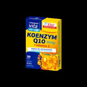 MaxiVita Koenzym Q10 30 mg + vitamin C