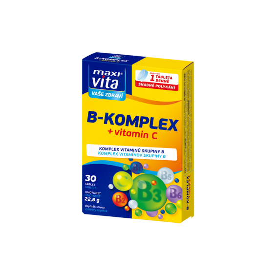MaxiVita B-komplex + vitamin C