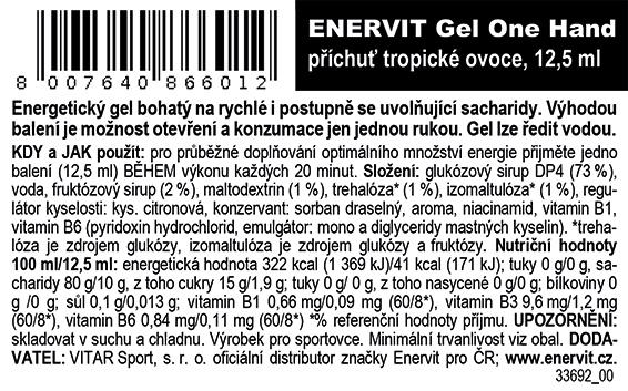One Hand – tropické ovoce (12,5 ml)