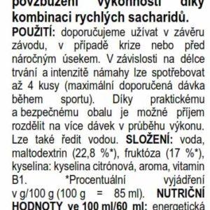 Isotonic Gel – jablko (60 ml)