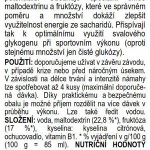 Isotonic Gel – malina (60 ml)