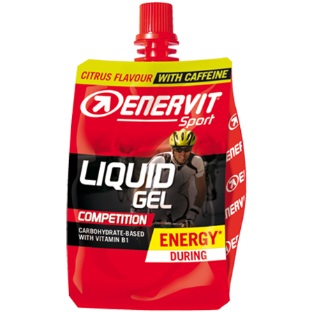 Liquid Gel Competition s kofeinem – citrus (60 ml)