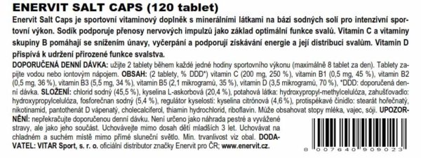 Salt Caps (120 tablet)