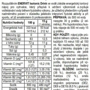 Isotonic Drink – pomeranč (420 g)