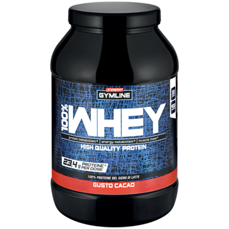 100% Whey Protein Concentrate – kakao (900 g)