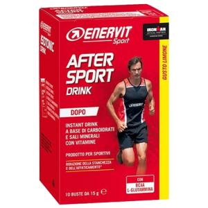 After Sport Drink – citron (10x 15 g)
