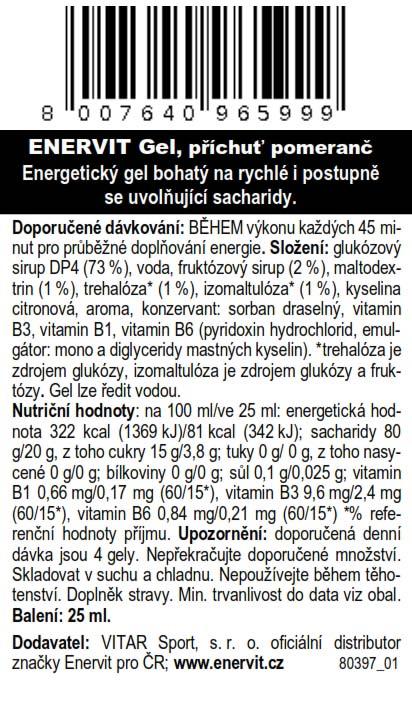 Gel – pomeranč (25 ml)