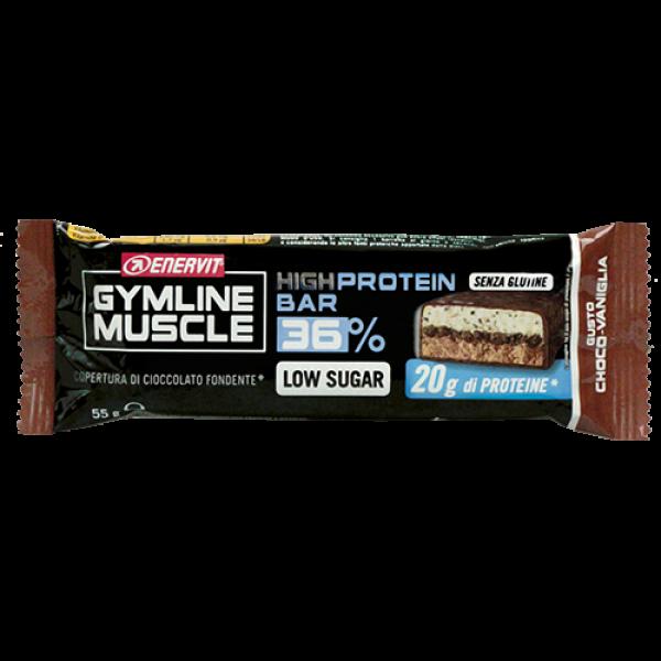 Protein Bar 36% – čokoláda + vanilka (55 g)