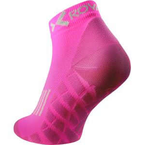 Sportovní ponožky LOW-CUT – Neon růžová, 36-38